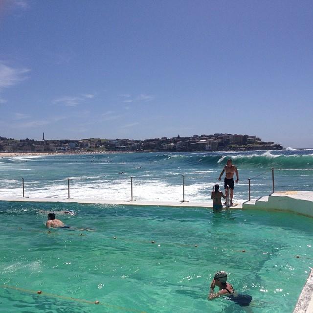Bondi beach 31 december 2013