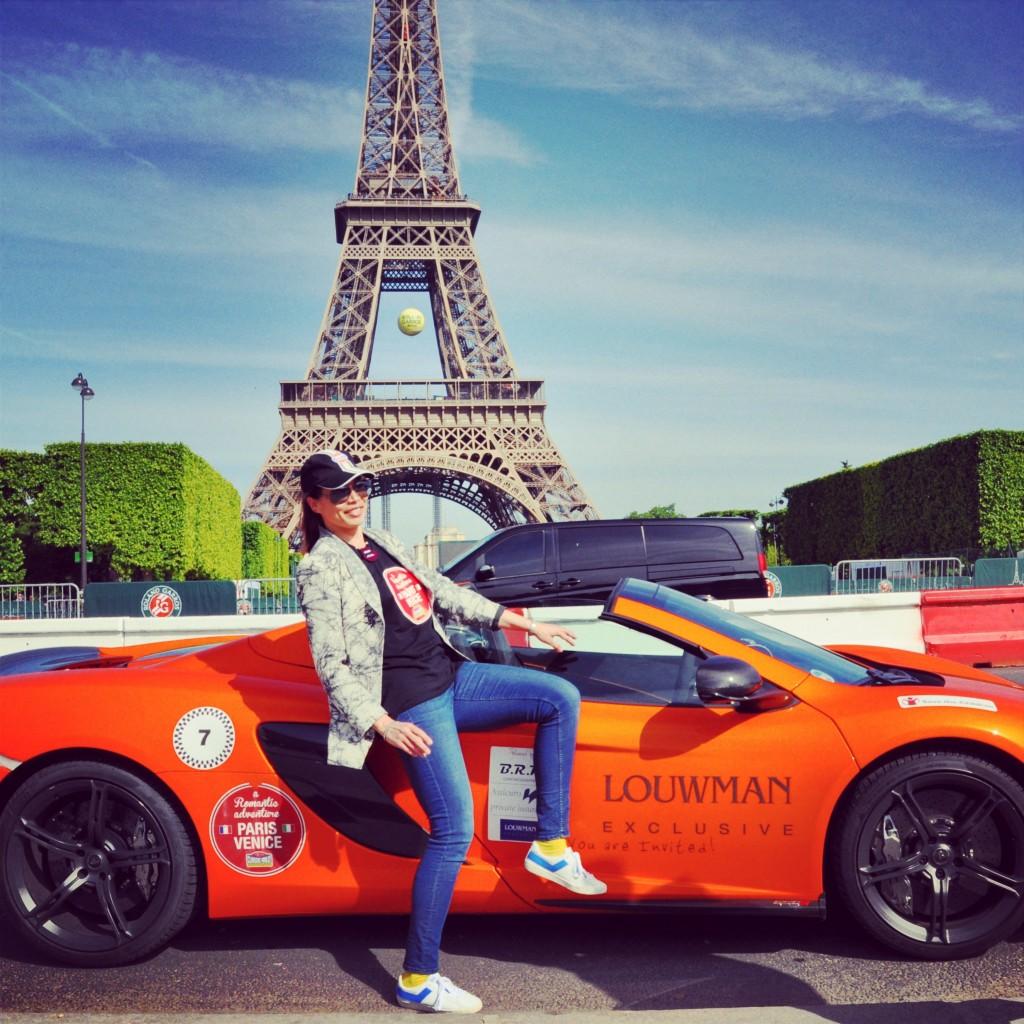 Chantal Rally Tour Eiffel
