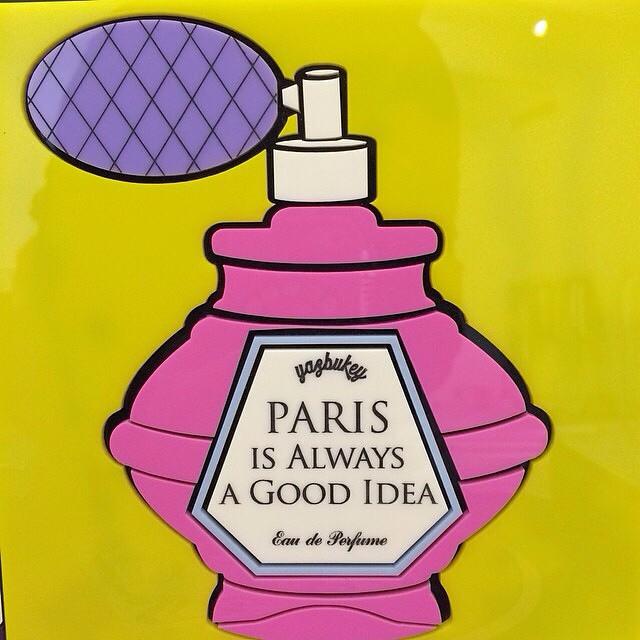 Yaz Bukey Paris is always a good idea