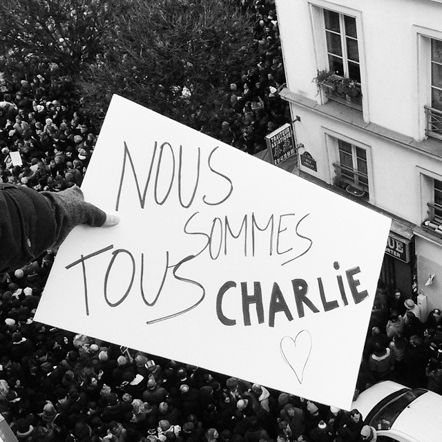 Nous sommes tous Charlie by Chantal Hoogvliet