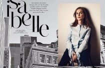 Isabelle Huppert by Eric Guillemain for Air France Madame