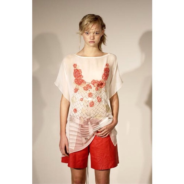 Gemma Ward for Akira's fashion show