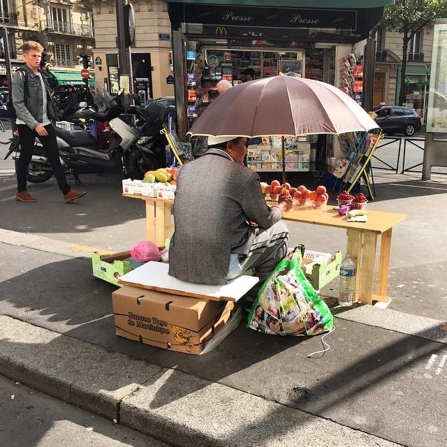 Summer in Paris ️ #chantaltvradar