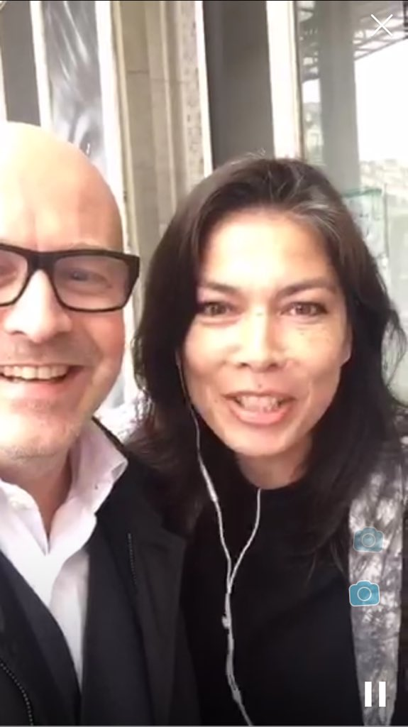 Periscope interview with ChantalTV