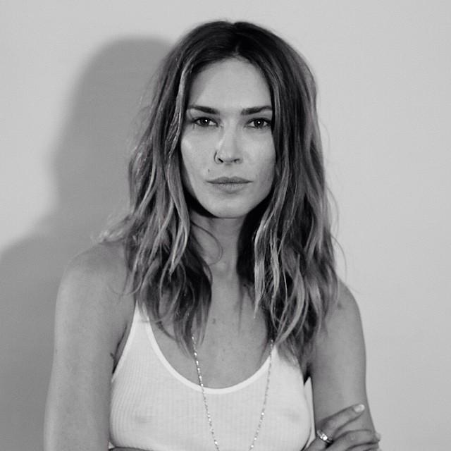 Model Erin Wasson's portrait by Eddy Ming