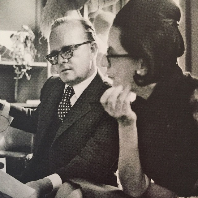 Heroes Truman Capote and Diane Vreeland