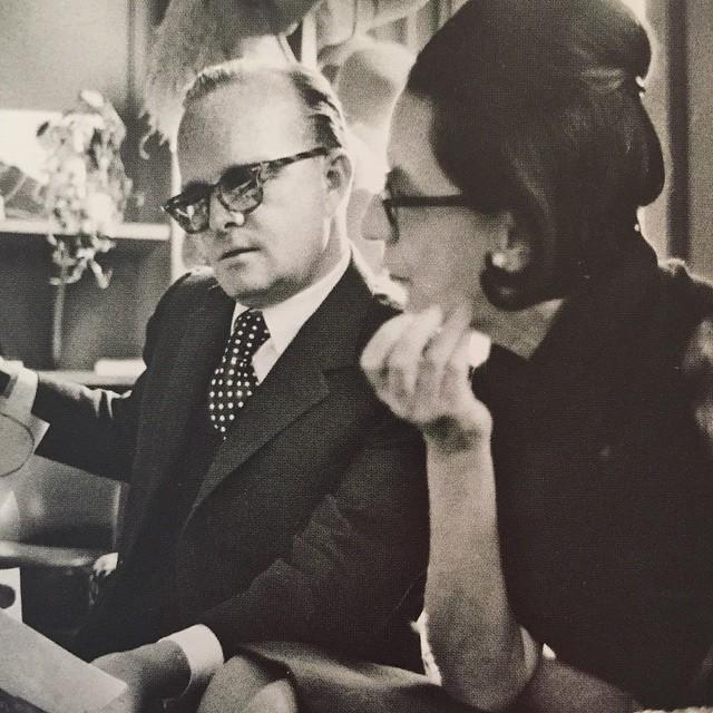 Heroes Truman Capote and Diane Vreeland