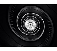 Stairs perspective in Paris by photographer Philip Provily