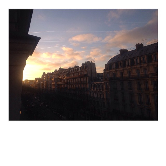 Good morning beautiful Paris