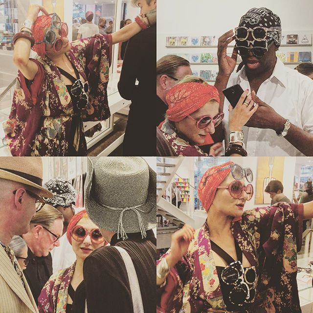@catherinebaba #sunglasses launch at @colette #Paris #couture #chantaltvradar #catherinebaba #coletteparis @miss_jalexander #ChantalTV #Periscope