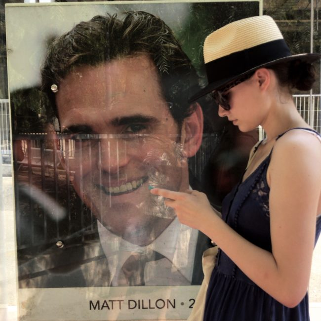 Matt Dillon Bobbi Holidays August 2018