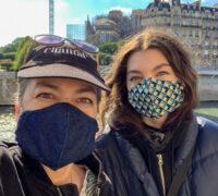 Bobbi Chantal Masked in Paris