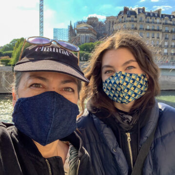 Bobbi Chantal Masked in Paris